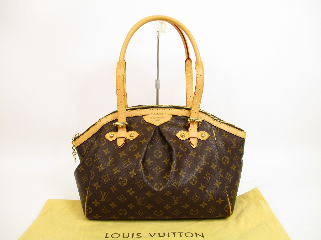 14ca28bb6 LOUIS VUITTON Monogram Leather Brown Tote&Shoppers Bag Tivoli GM #4451 -  Authentic Brand Shop .