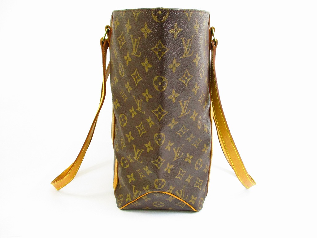 Sac Louis Vuitton Tote W : Auth louis vuitton monogram leather brown tote pers