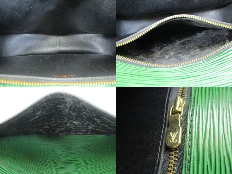 fd4d5c0769e5 Photo8  LOUIS VUITTON Epi Leather Green Cross-body Bag Saint Cloud GM  4414
