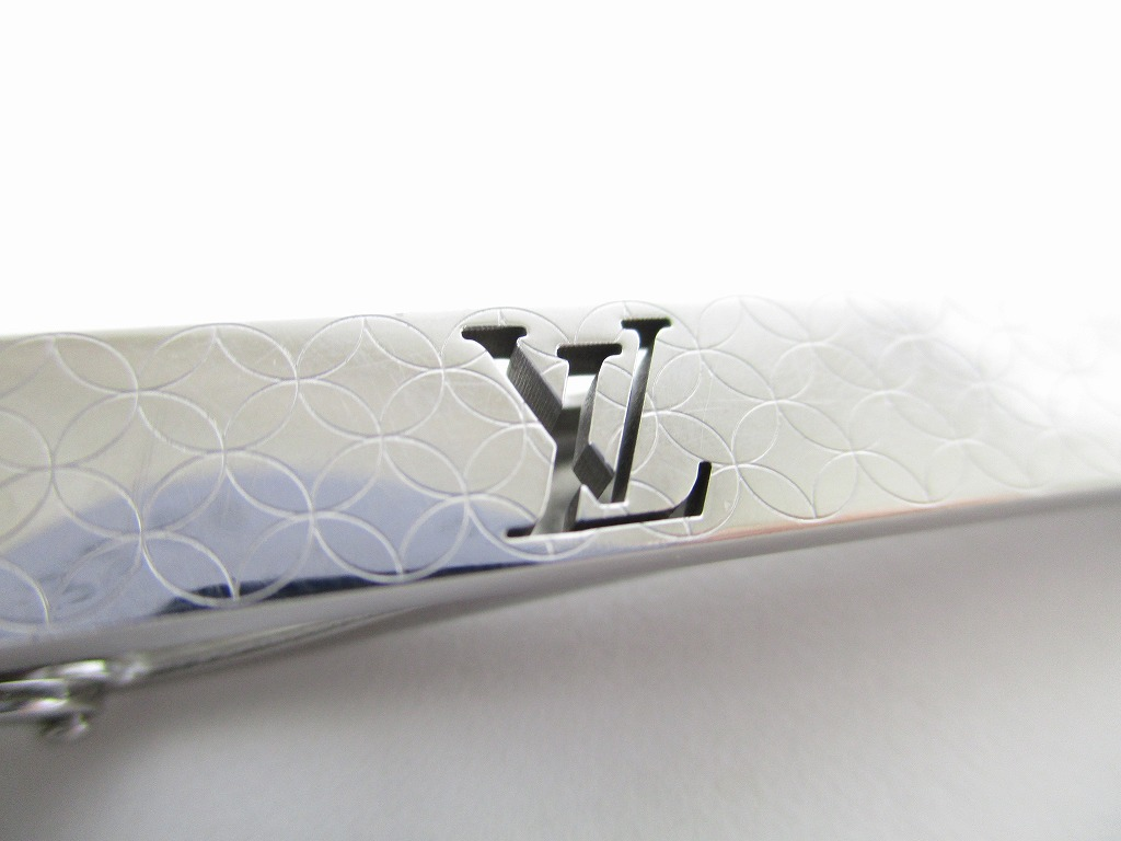 bc71070f0a23 LOUIS VUITTON Steel Silver Color Tie Pin #5514 - Authentic Brand ...