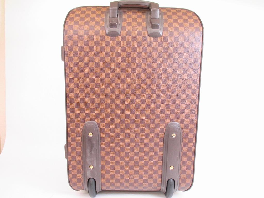 d2b7757e5775 LOUIS VUITTON Damier Leather Brown Carry-on Bag Luggage Pegase 60  5752   280822-5752