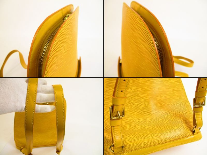 Louis vuitton epi leather yellow backpack bag purse gobelins jpg 800x600 Yellow  louis vuitton backpack 2f3ded52d0d98