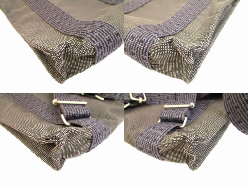 hermes canvas her line grays backpack bag pm w lock and key 6008 authentic brand shop tokyo 39 s. Black Bedroom Furniture Sets. Home Design Ideas