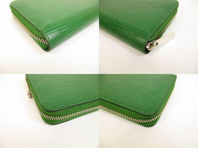 d4e03ffcec7e LOUIS VUITTON Epi Leather Green Zip Around Zippy Wallet Purse  6276  6276