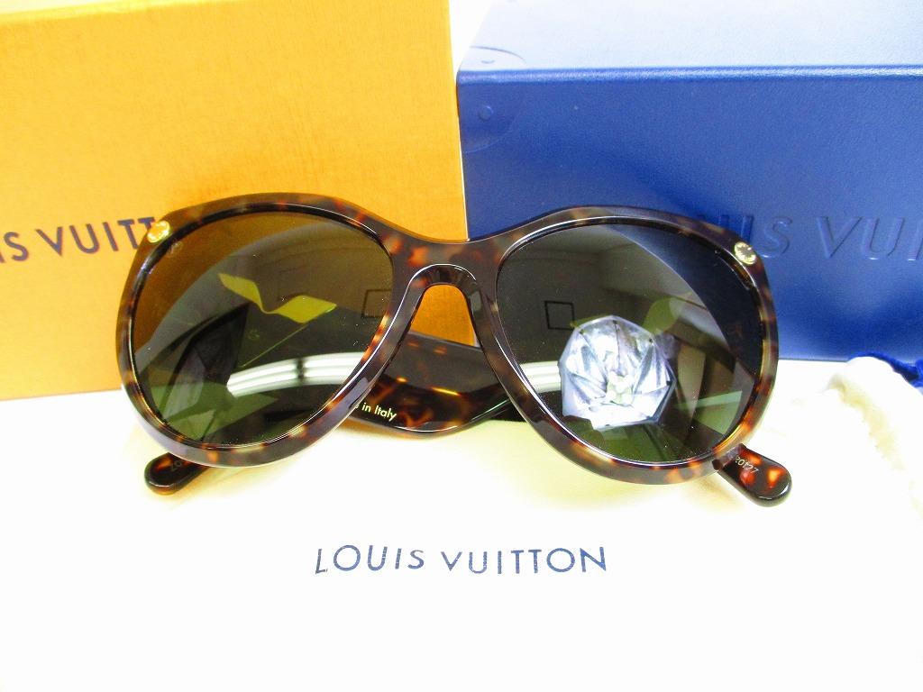 bae8dc5e1f Auth LOUIS VUITON Brown Essential V motif Sunglasses Eye Wear My ...