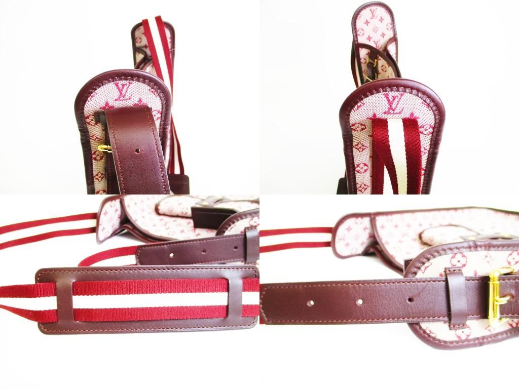 c19326c5 LOUIS VUITTON Monogram Mini Red Canvas Crossbody Bag Buzasu Mary Kate #7343
